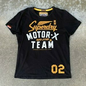 SUPERDRY Label Retro Motor-X Team Graphic T Shirt